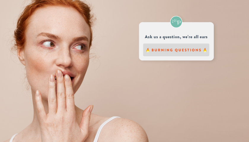 Makeup -vs- Sensitive Skin. Your Burning Qs